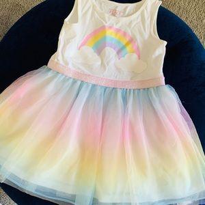 3T Rainbow dress